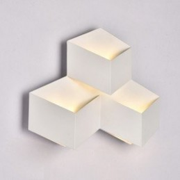 Applique da parete up&down 3W per esterno luce fredda 6500k ES48 APPLIQUE LED  LT2320 7,56 €