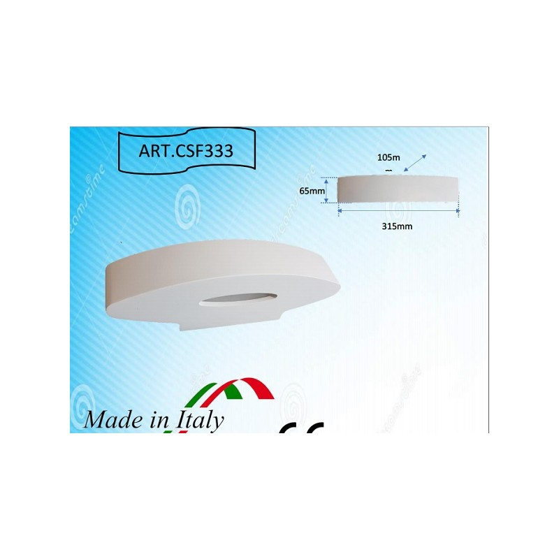 APPLIQUE IN GESSO DA INCASSO LED SAMSUNG led già integrato VLCG130 APPLIQUE LED  LT1568 81,00 €