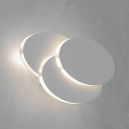 Applique moderno 5W LED Wall Light White Body IP65 4000K - SKU 8281 PER USO INTERNO IP33 ABM