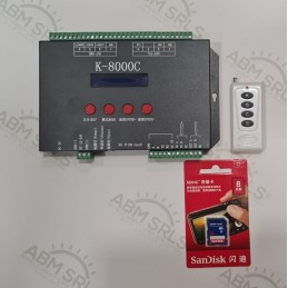 DISPLAY P5 RGB MULTICOLOR32 X 192 IP33 WIFI MINI DISPLAY 119,56 € ABM